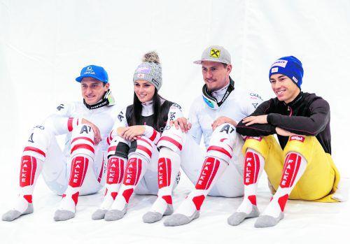 Mit Anna Veith und Max Franz fehlen dem österreichischen Skiteam zwei aussichtsreiche Medaillenkandidaten.