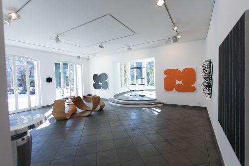 Mit Arbeiten von Karl-Heinz Ströhle gelingt es Leonie Hirn und Calvin Mechora zu beweisen, dass es mit der Galerie 60 in Feldkirch weitergeht. VN/Steurer