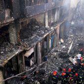 Dutzende Tote bei Flammeninferno