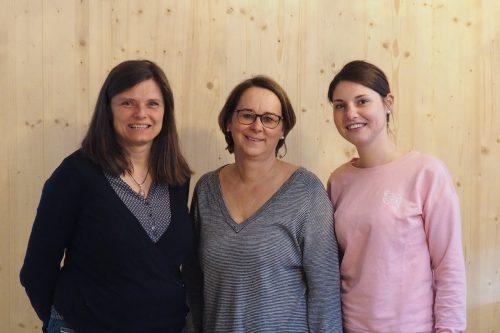 Neues Führungstrio im SonnenGarten: Direktorin Ursula Clark, Geschäftsführerin Heike Hartmann und Co-Direktorin Barbara Prantl (v. l). Sonnengarten