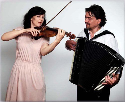 Nina Ulli und Goran Kovačević musizieren am Sonntag gemeinsam. handout/veranstalter