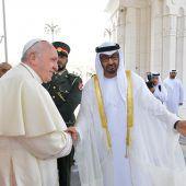 Historische Reise des Papstes zur Wiege des Islam
