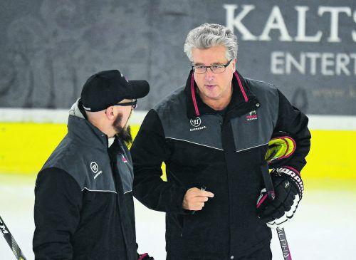 Roger Bader und Markus Peintner versammeln das österreichische Eishockey-Nationalteam zum dritten Lehrgang in Vorbereitung auf die A-WM in der Slowakei. gepa