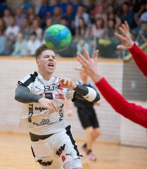 Fabian Füssinger und Hohenems kämpfen um den Klassenerhalt.VN/Sams