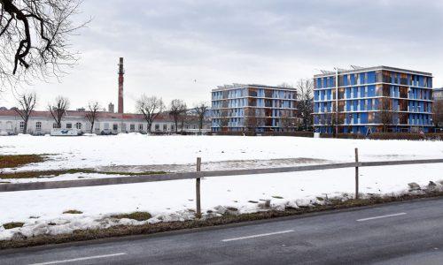 Rund 7200 m² dieses Grundstücks neben der Kammgarn erwirbt Hard von der Vogewosi für die Harder Projekt- und Strukturentwicklungsgenossenschaft. AJK