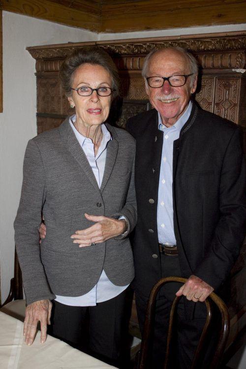 Ruth und Helmut Ölz (Meisterbäcker).