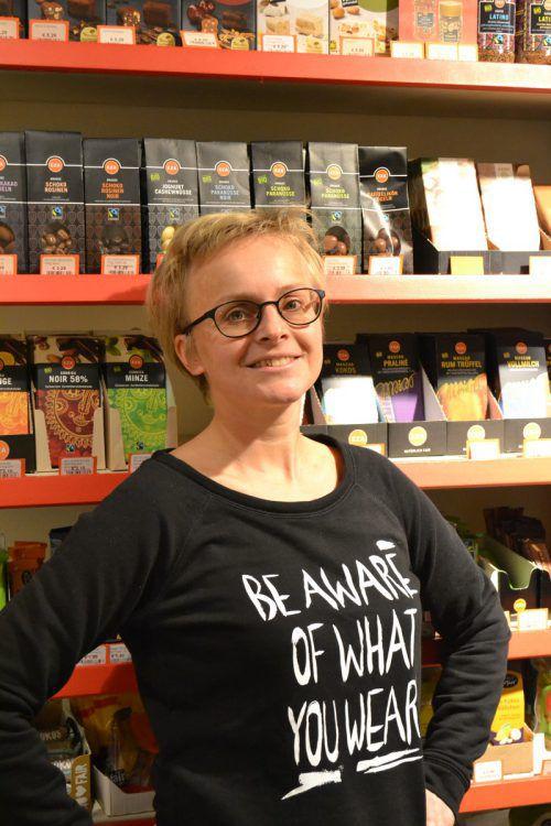 """Sabine Klapf tritt für ein """"Gutes Leben für Alle"""" ein. BI"""
