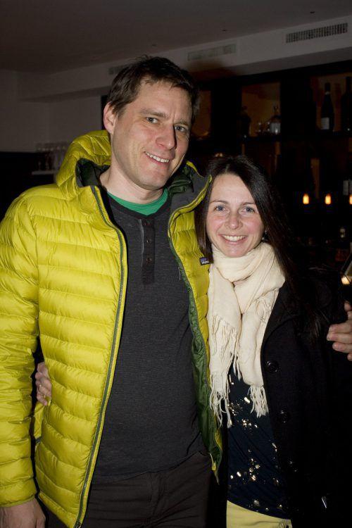 Sabine und Robert Kreinbucher überzeugten sich von den Kochkünsten.