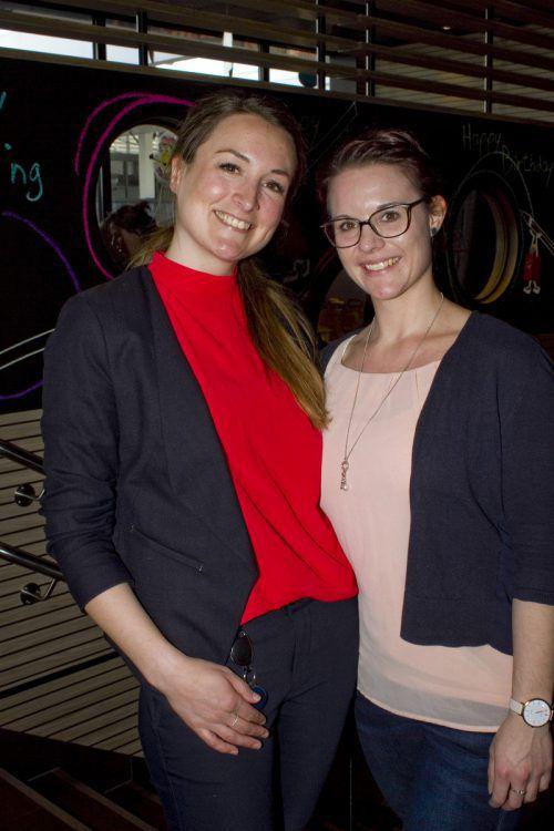 Sabine Walser (l.) und Daniela Albinger (Hochland).