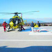 Mehr Flugbetrieb auf Spitalsdach