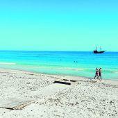Weiße Sandstrände und klares Meer