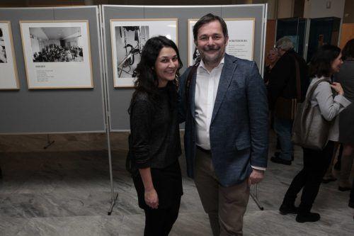 Sparkasse-Feldkirch-Marketingleiter Karlheinz Kindler mit Tochter Sophie.