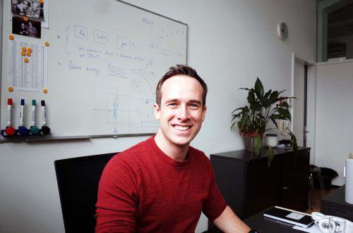 Stefan Arzbacher, wissenschaftlicher Mitarbeiter am Forschungszentrum Energie.