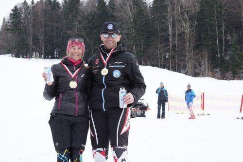 Tagessieger im Masters Cup: Susanne Stadelmann und Stefan Mangard. Kolb