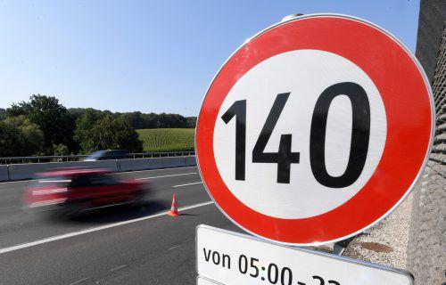 Teststrecken für Tempo 140: In Vorarlberg finden die Überlegungen des Verkehrsministeriums keine Mehrheiten.APA