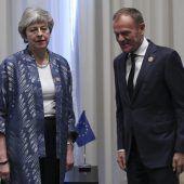 May hält an geplantem Brexittag fest