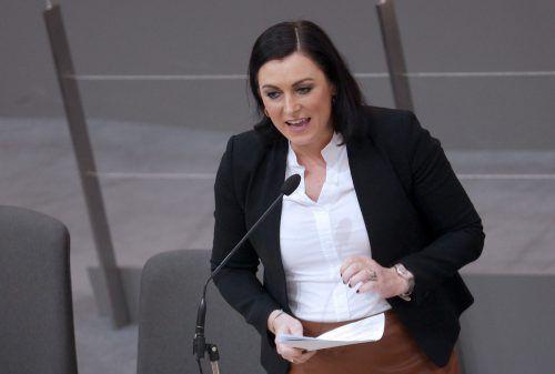 Umweltministerin Köstingerverteidigte die Novelle im Bundesrat.APA