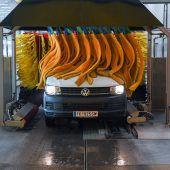 Saubere Fahrzeuge für die Vorarlberger Lebenshilfe