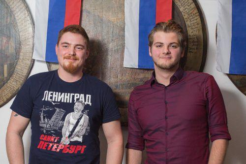 Unter den Gästen: Philipp Matt und Oleg Mironjuk.