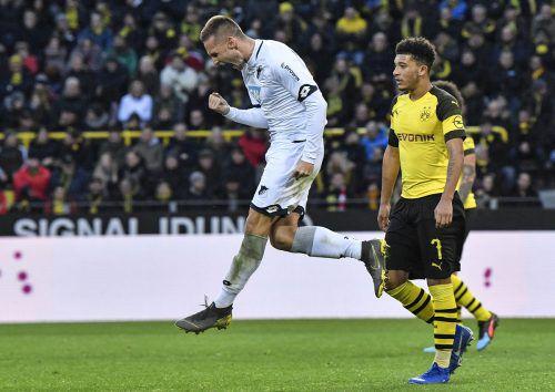 Während die Hoffenheimer über die gelungene Rückkehr jubeln durften, mussten sich die Dortmunder fragen, wie sie dieses 3:0 noch aus der Hand geben konnten.AP