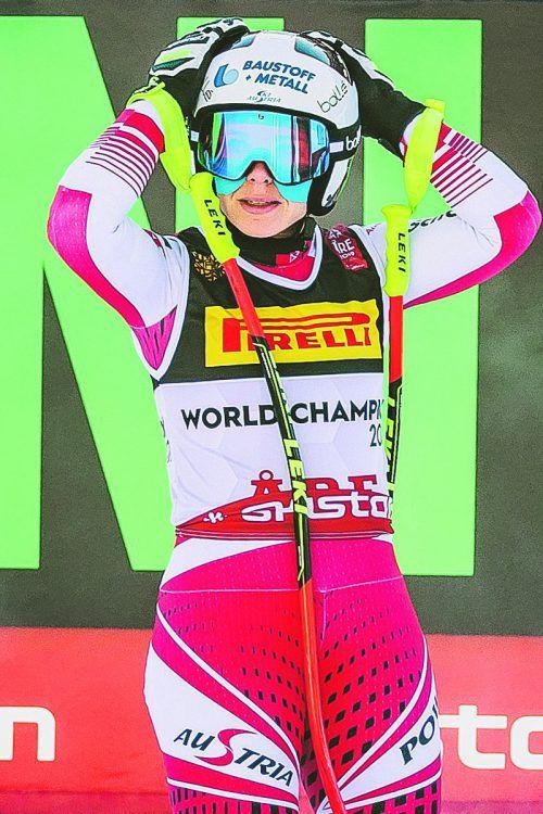 Weit neben den Medaillenrängen: Nicole Schmidhofer.apa
