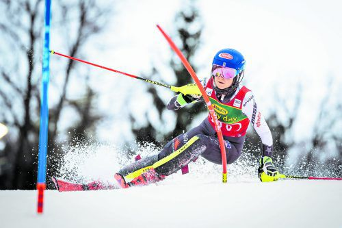 Weltcup-Erfolg Nummer 56 von Mikaela Shiffrin beim Slalom in Maribor. Öfter gewonnen haben in der Ski-Königsklasse nur Ingemar Stenmark (86), Lindsey Vonn (82), Marcel Hirscher (68) und Annemarie Moser-Pröll (62).apa