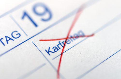 Wer am Karfreitag zukünftig freihaben möchte, muss einen seiner Urlaubstage verbrauchen. APA