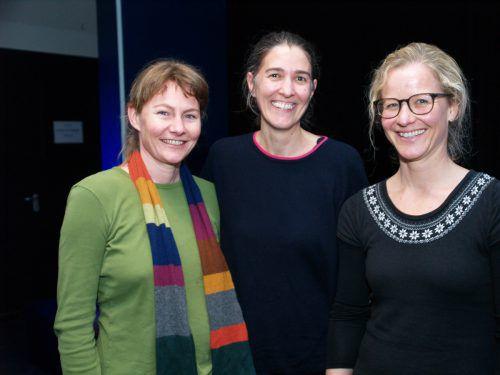 Yvonne Natter, Katharina Sonderegger-Kyck und Karoline Ebner.