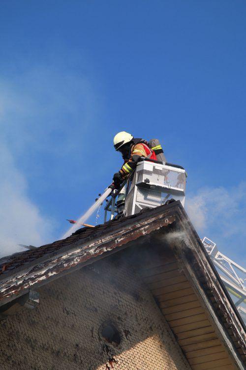 Zu einigen Bränden mussten die Florianis ausrücken. Pletsch