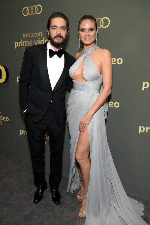 Zwillingsbruder Bill Kaulitz heizte in einem Interview die Gerüchte einer Elternschaft von Heidi Klum und Tom Kaulitz kräftig an. AFP