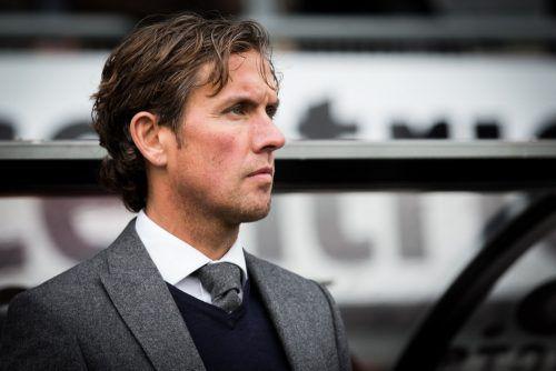 Ab sofort der neue Mann auf der Altacher Kommandobrücke: Alex Pastoor übernimmt das Traineramt beim abstiegsgefährdeten Bundesligaklub.Sparta