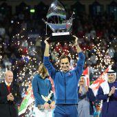 Federer holte sich 100. Titel