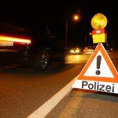 Zehn Führerscheinabnahmen bei Aktion scharf