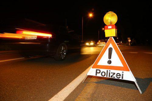 Am Faschingsdienstag führte die Polizei in den Bezirken Feldkirch und Bludenz Schwerpunktkontrollen durch.VN/HB