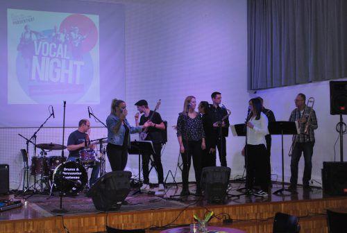 Am kommenden Donnerstag ist wieder Vocalnight im Jazzseminar. erh