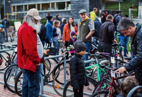 Am Samstag findet in Wolfurt die traditionelle Fahrradbörse statt.Gmeiner/Keick