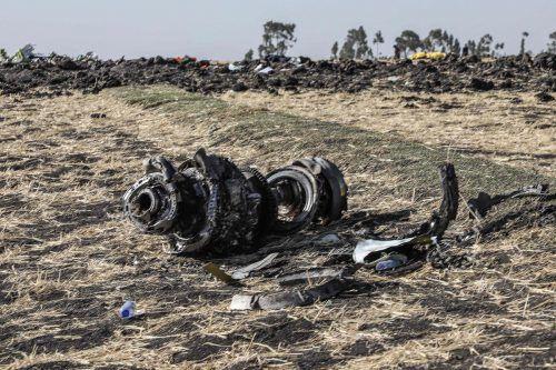 Am Sonntag war die Maschine mit 157 Menschen an Bord abgestürzt. AFP