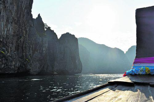 """An dieser Bucht wurde der Film """"The Beach"""" mit Leonardo di Caprio gedreht."""