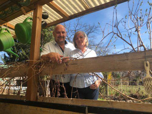 Angelika und Roland Felder gaben den entscheidenden Hinweis. VN/Gms