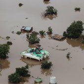 Nach Zyklon drohen weitere Überschwemmungen