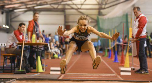 Annika Rhomberg holte sich vier der fünf Meistertitel bei den Unter-16-Mädchen.VLV