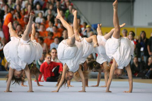 Auch die Weltgymnaestrada 2007 fand in Vorarlberg statt. VN