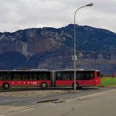 Längere Garnituren und erste Klasse in Dornbirns Stadtbussen