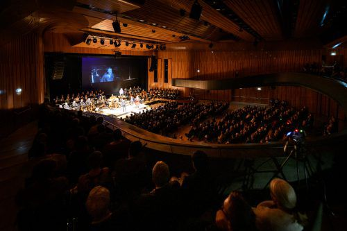 """Bachs """"Matthäus-Passion"""" wurde unter Benjamin Lack im ausverkauften Montforthaus in Feldkirch aufgeführt.M. rhomberg"""