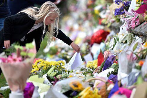 Bei dem Attentat auf zwei Moscheen starben mindestens 50 Menschen. Weltweit ist das Entsetzen groß. AFP