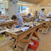 Leistungsschau der Vorarlberger Tischlerlehrlinge
