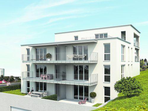Bei der WA Funkenbühel in Bregenz kann die monatliche Belastung dank Hefel-Wohnbau-Förderung deutlich reduziert werden.bild: hefel