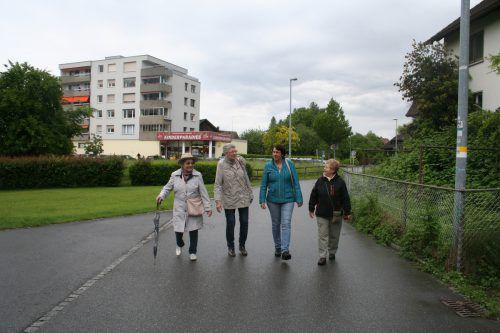 """Bei """"Geh mit."""" können Senioren gemeinsam Lustenau erkunden. Gde"""