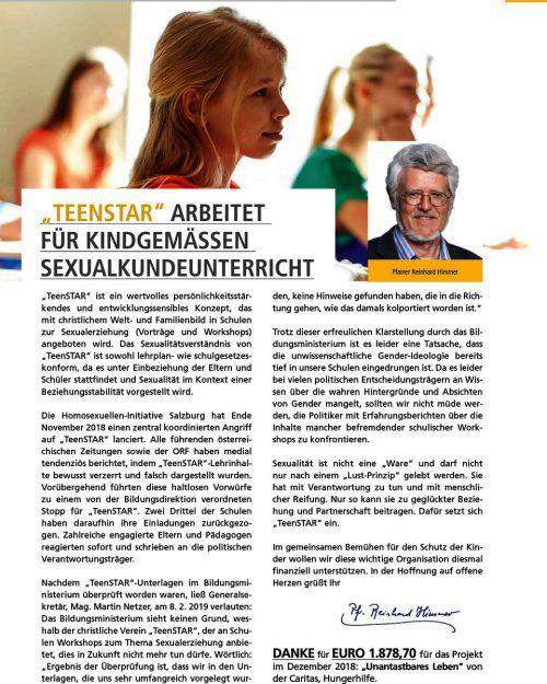 """Beitrag in Landes-Seniorengazette """"Der Express"""" erhitzt die Gemüter."""