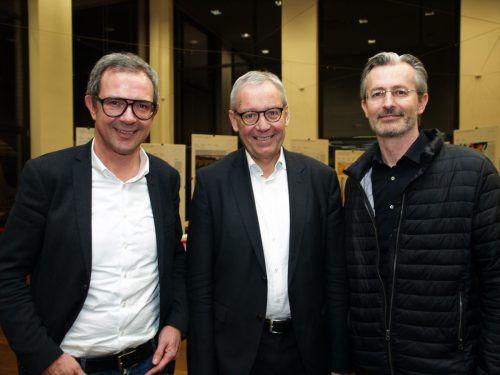 Bernhard Ölz (Prisma), LSth. Karlheinz Rüdisser und Jimmy Heinzl (Wisto).